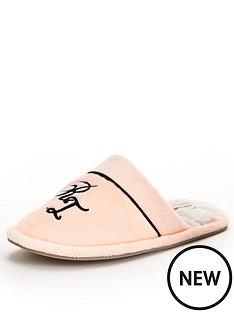 river-island-river-island-vevet-loungewear-slipper