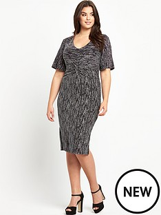 so-fabulous-plus-size-glitter-twist-front-midi-dress-14-28