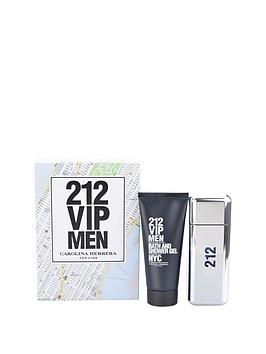 Carolina Herrera 212 Vip Men 100Ml Edt And 100Ml Shower Gel Gift Set