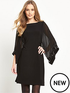 wallis-wallis-cape-sequin-sleeve-tunic