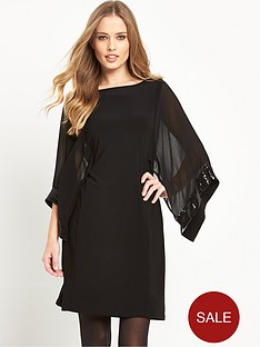 wallis-wallis-cape-sequin-sleeve-tunic