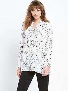 wallis-wallis-star-print-shirt