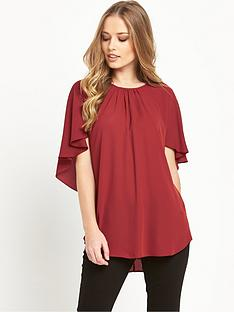 wallis-cape-sleeve-top