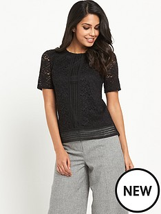 warehouse-lace-top