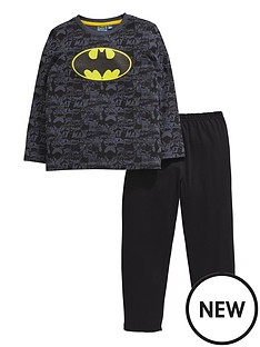 batman-boys-bat-logo-pyjamas