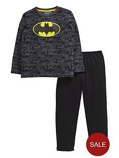 batman-boys-bat-logo-pyjamas