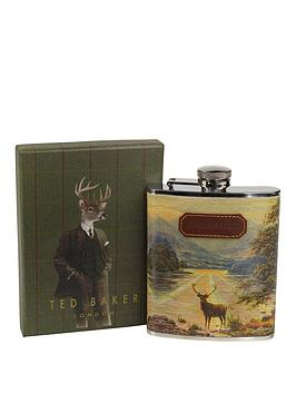 ted-baker-stag-hip-flask