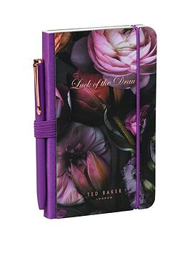 ted-baker-ted-baker-shadow-flora-mini-notebook-amp-pen