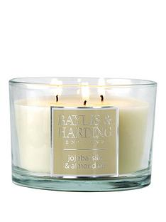 baylis-harding-3-wick-candle-ndash-jojoba-silk-amp-almond-oil