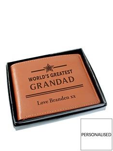 personalised-worlds-greatest-grandad-tan-leather-wallet