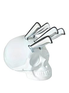 skull-kitchen-knife-block