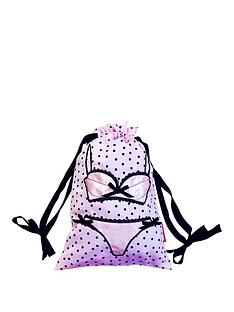 bombay-duck-spotty-lingerie-bag