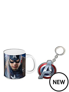 marvel-marvel-age-of-ultron-captain-america-mug-amp-keyring