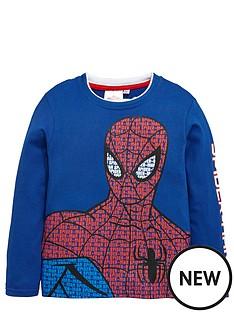 spiderman-spiderman-long-sleeve-top