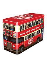 Nestle Kit Kat Embossed Bus Gift Tin