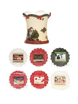 yankee-candle-christmas-eve-melt-warmer-with-6-melts