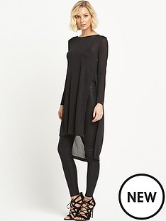 river-island-cowl-back-longline-top