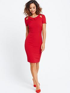 myleene-klass-cut-out-back-pencil-dress