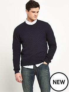v-by-very-crew-neck-brick-design-jumper