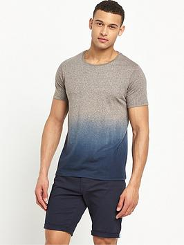 v-by-very-crew-neck-short-sleeve-dip-dye-t-shirt
