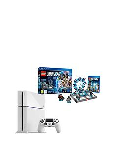 playstation-4-500gb-white-console-with-lego-dimensions-starter-pack