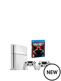 playstation-4-white-console-with-call-of-duty-black-ops-3-12-months-playstation-plus-and-an-extra-dualshock-4-controller