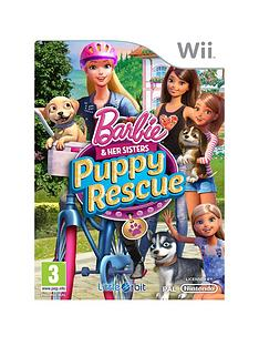 nintendo-wii-barbie-amp-her-sisters-puppy-rescue