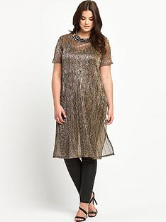 so-fabulous-plus-size-crinkle-metallic-split-side-maxi-tunic-top-14-28