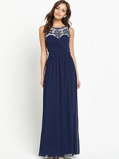 little-mistress-little-mistress-beaded-top-maxi-dress