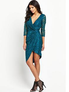little-mistress-little-mistress-lace-wrapover-dress