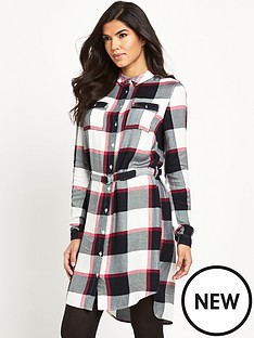 v-by-very-check-shirt-dress