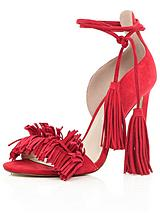 Tassel Tie Barely There Sandals
