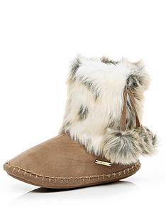 river-island-suede-slipper-boots-with-fauxnbspfur-trim