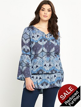 so-fabulous-lace-up-front-drop-waist-tunic-top
