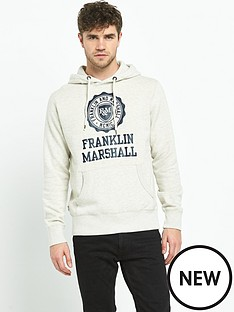 franklin-marshall-franklin-amp-marshall-logo-hoody