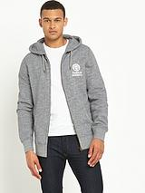 Zip-Through Mens Hoodie