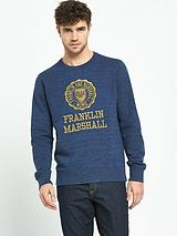 Embroidered Mens Sweatshirt