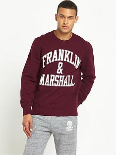 franklin-marshall-logo-mens-sweatshirt