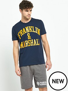 franklin-marshall-arch-logo-mens-t-shirt