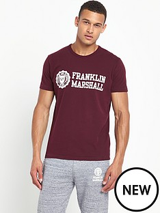 franklin-marshall-logo-mens-t-shirt