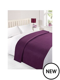 plain-fleece-blanket-grape-120x150