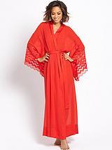Long Sheer Robe