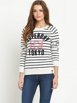 superdry-appliqueacutenbspsuper-stripe-crew-sweat-top