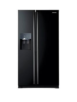 Samsung Rs7567BhcbcEu Frost Free AmericanStyle Fridge Freezer With Twin Cooling Plus&Trade System  Next Day Delivery  Black