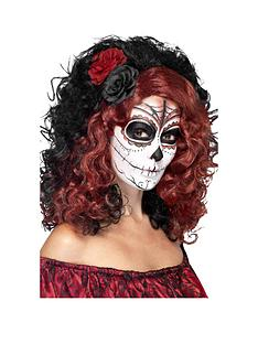 day-of-the-dead-black-amp-red-wig-with-roses