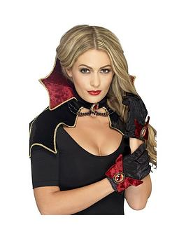 fever-vamp-kit-cape-with-collar-and-gloves