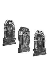 Halloween Set of 3 50cm Tombstones