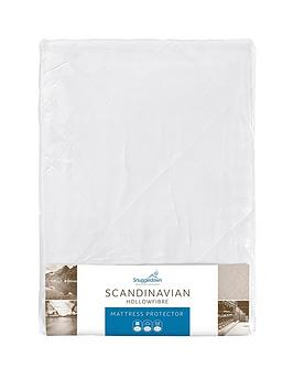 Product photograph showing Snuggledown Of Norway Scandinavian Hollowfibre Mattress Protector