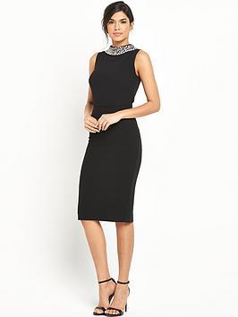 v-by-very-embellished-high-neck-detailed-dress