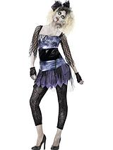 Zombie 80's Wild Child - Adult Costume